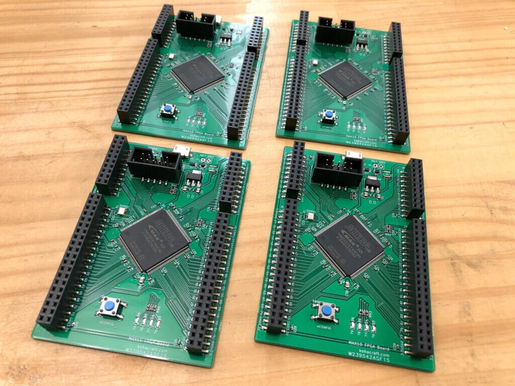 MAX10FPGAボード