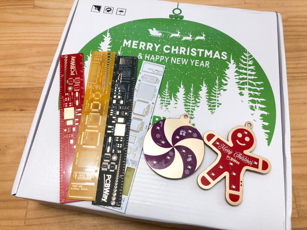 PCBWayクリスマスギフト
