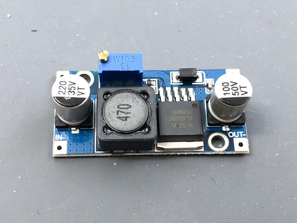 XL6009昇圧モジュール