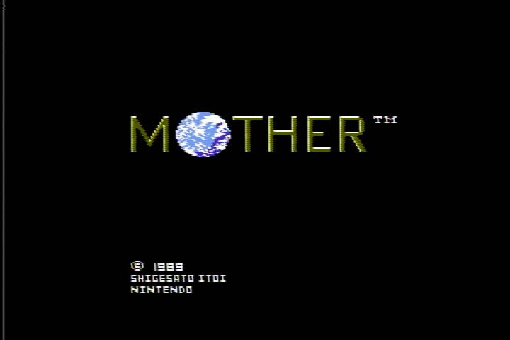MOTHER タイトル