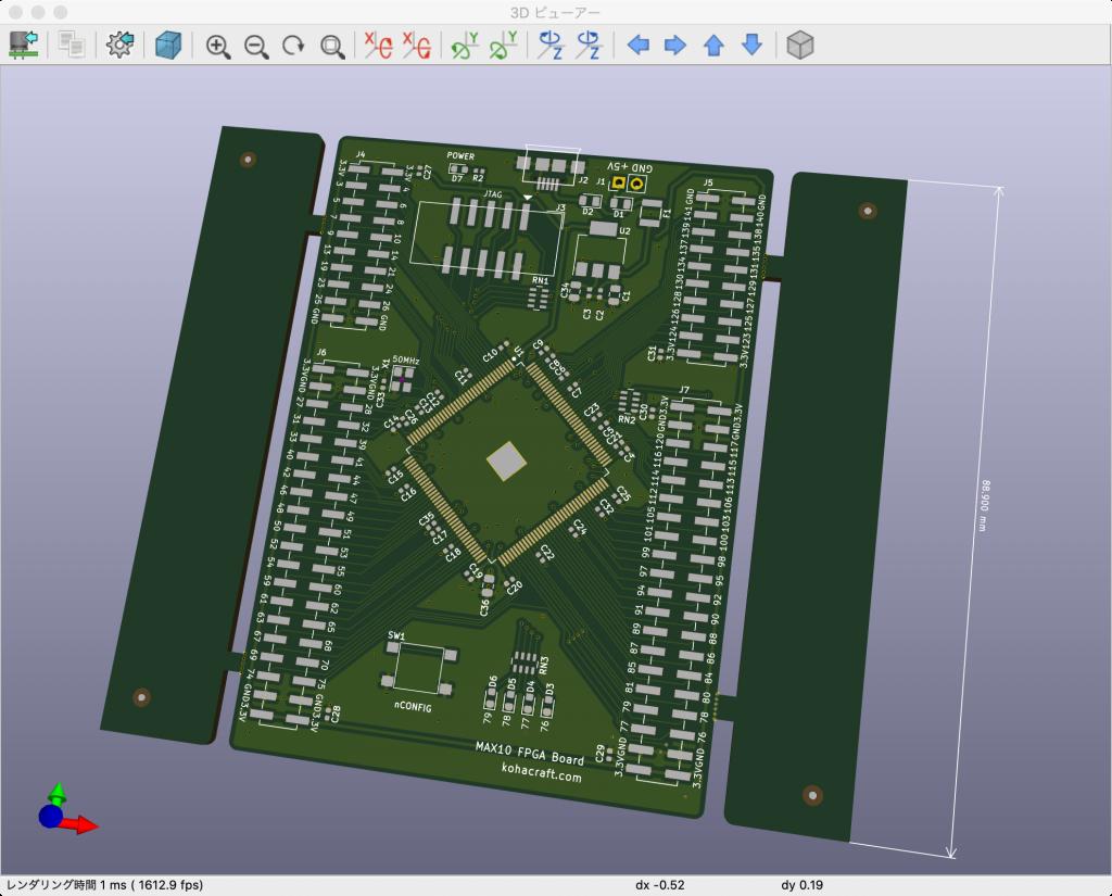 MAX10 FPGA 評価基板