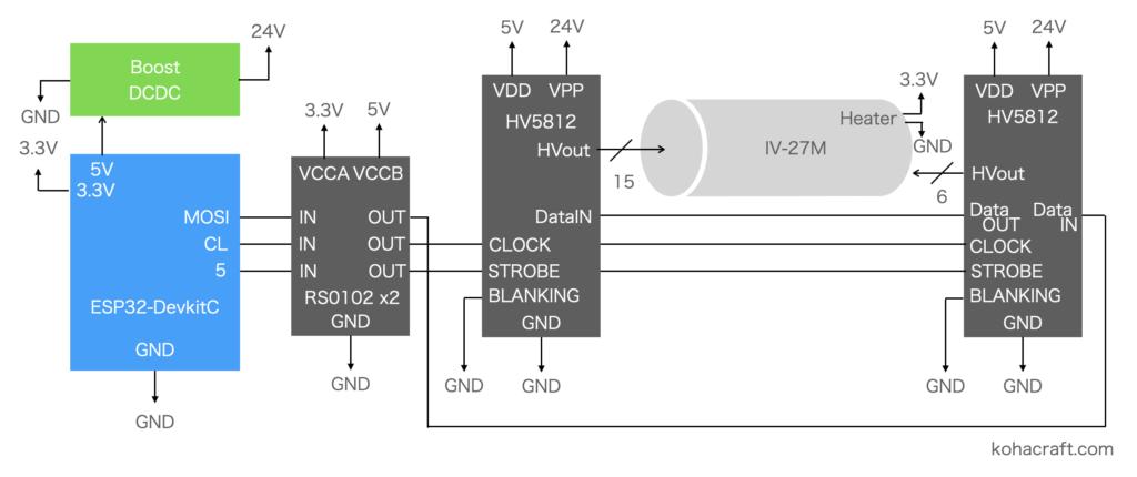 IV27M回路図